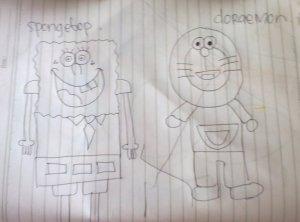 Doraemon dan Spongebop
